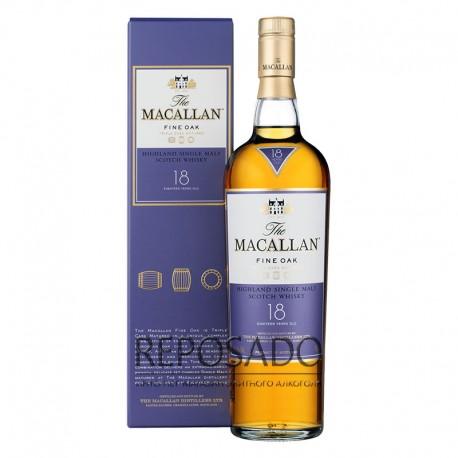 Macallan 18 Years Old, Fine Oak 0,7L (Макаллан 18 лет Файн Оак 0,7л)