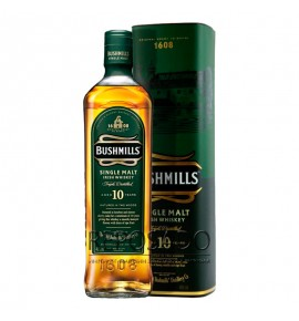 Bushmills 10 Years Old 0,7L (Бушмилс 10 лет 0,7л)