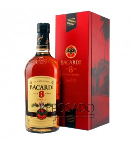 Bacardi Gold 8 Years Old 1L (Бакарди Голд 8 лет 1л)