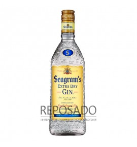 Seagrams Extra Dry Gin 1L (Сиграмс Экстра Драй Джин 1л)