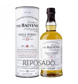 Balvenie Single Barrel 15 YO 0.7L (Балвени 15 лет Сингл Баррел 0.7л)