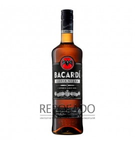 Bacardi Carta Negra 1L (Бакарди Карта Негра 1л)