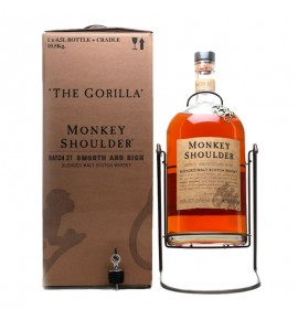Monkey Shoulder The Gorilla With Cradle 4.5L (Манки Шоулдер Горилла 4.5л)