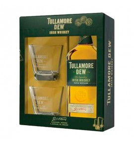 Tullamore Dew & 2 Glasses 0.7L (Талламор Дью + 2 Стакана 0.7л)