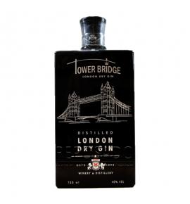 Tower Bridge London Dry Gin Black 0,7L (Джин Тауэр Бридж  Лондон Драй Блек 0,7л)