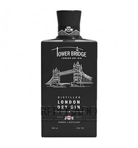Tower Bridge London Dry Gin Black 0,35L (Джин Тауэр Бридж  Лондон Драй Блек 0,35л)