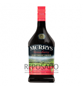 Merrys Strawberry Cream 0,7L (Ликер Меррис Стравберри Крим 0,7л)