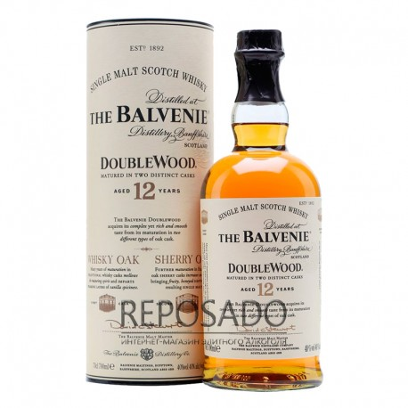 Balvenie 12 Years Old, DoubleWood 0,7L (Балвини 12 лет Даблвуд 0,7л)