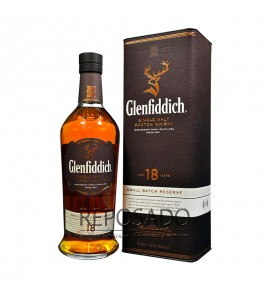 Glenfiddich 18 Years Old 0,7L (Гленфиддик 18 лет 0,7л)