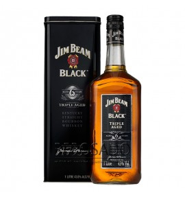 Jim Beam Black Triple Aged 6 Years Old 1L (Джим Бим Блэк 6 лет 1л)