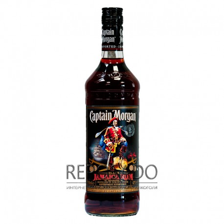 Captain Morgan Black 1L (Капитан Морган Блэк 1л)