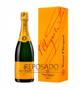 Veuve Clicquot Brut 0,75L in box (Вдова Клико Брют 0,75л)
