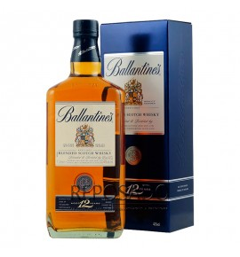 Ballantines 12 Years Old 1L (Баллантайнс 12 лет 1л)