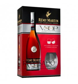 Remy Martin VSOP with Glasses 0,7L (Реми Мартин ВСОП со стаканами 0,7л)