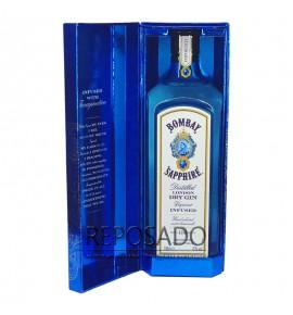 Bombay Sapphire Gin 1L in box (Бомбей Сапфир Джин 1л)