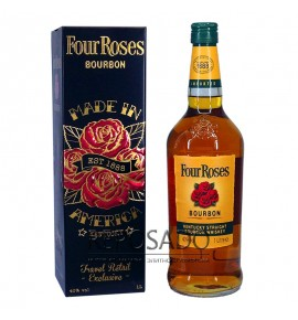 Four Roses 1L in Metall Box (Четыре Розы 1л)