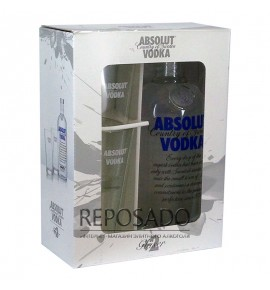 Absolut + 2 Glasses 0,7L (Абсолют со стаканами 0,7л)