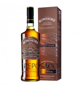 Bowmore White Sands 17 Years Old 1L (Бомо Вайт Сэндс 17 лет 1л)
