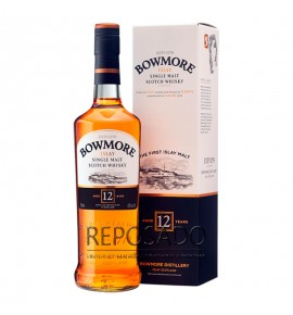 Bowmore 12 Years Old 0,7L (Бомо 12 лет 0,7л)