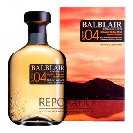 Balblair Vintage 2004 1L (Балблэр Винтаж 2004 года 1л)