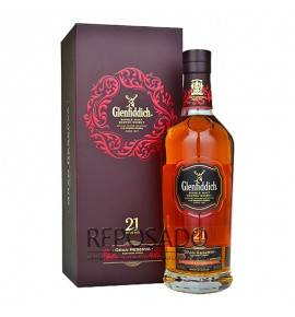 Glenfiddich 21 Years Old, Rum Cask 0,7L (Гленфиддик 21 год 0,7л)