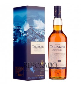 Talisker 10 Years Old 0,7L (Талискер 10 лет 0,7л)